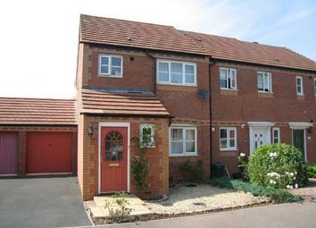 Thumbnail 3 bed end terrace house to rent in Browning Road, Ledbury, Herefordshire