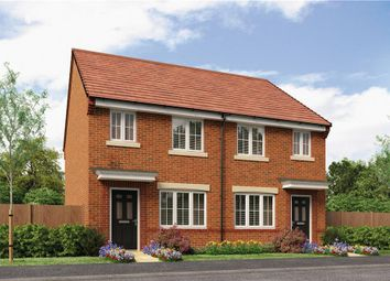"Thumbnail 3 bedroom semi-detached house for sale in ""The Stretton"" at Buttercup Gardens, Blyth"