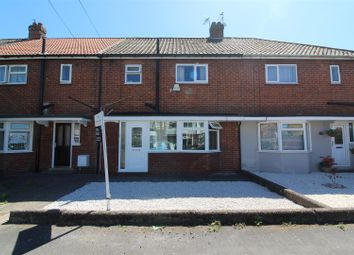 Thumbnail 3 bed terraced house for sale in Woodcroft Avenue, Hull