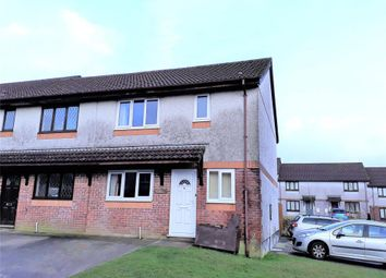 Thumbnail 3 bed end terrace house to rent in Lamorna Parc, Callington, Cornwall