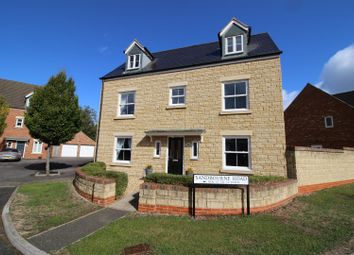Thumbnail 5 bed detached house for sale in Sandbourne Road, Taw Hill, Swindon