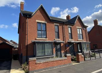 Thumbnail 3 bed semi-detached house to rent in Dairy Lane, Ashby-De-La-Zouch, Leicestershire