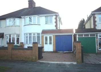 Thumbnail 3 bedroom semi-detached house to rent in Norbury Road, Wolverhampton