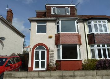 Thumbnail 6 bed semi-detached house to rent in Beverley Road, Horfield, Bristol