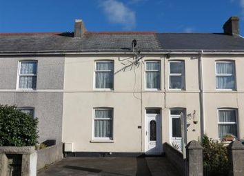 Thumbnail 3 bed terraced house for sale in Porthpean Road, St. Austell