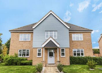 Thumbnail 6 bed detached house for sale in Shackleton Way, Yaxley