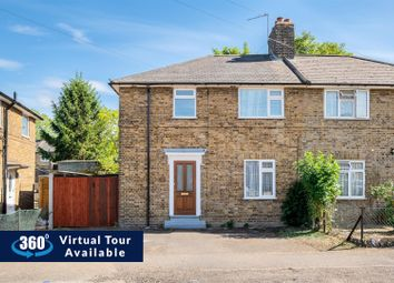 Thumbnail 3 bed semi-detached house for sale in Castle Avenue, Yiewsley, West Drayton