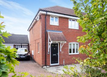 3 bed semi-detached house for sale in Kings Road, Bungay NR35