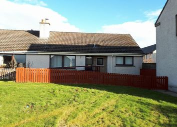 Thumbnail 2 bed semi-detached bungalow for sale in Kirkside, Alness