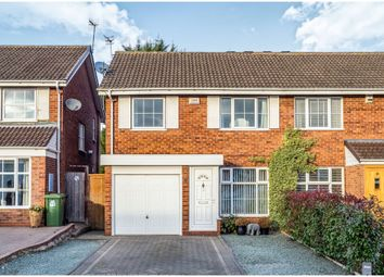Thumbnail 3 bed semi-detached house for sale in Warmington Grove, Warwick