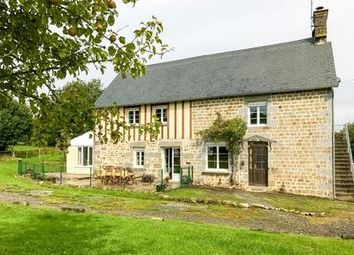 Thumbnail 4 bed equestrian property for sale in Romagny, Manche, France