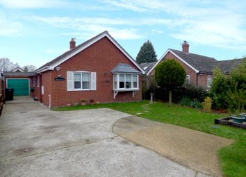 Thumbnail 2 bedroom detached bungalow for sale in Station Road, Aslacton, Norwich