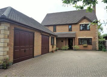 Thumbnail 5 bed detached house for sale in Leicester Road, Leicester