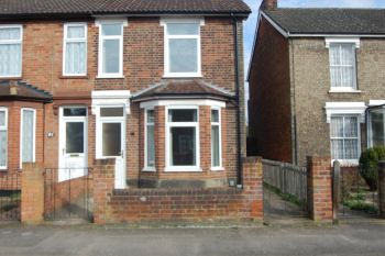 Thumbnail 2 bed terraced house to rent in Levington Road, Ipswich, Suffolk