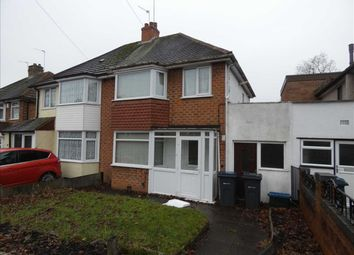 Thumbnail 3 bed semi-detached house to rent in Bilton Grange Road, Yardley, Birmingham