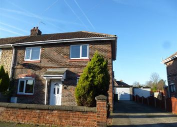 Thumbnail 3 bed semi-detached house to rent in Church Road, Bircotes, Doncaster