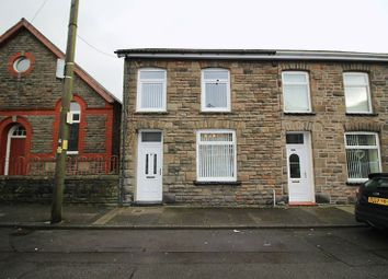 Thumbnail 2 bed end terrace house for sale in Thompson Street, Ynysybwl, Pontypridd