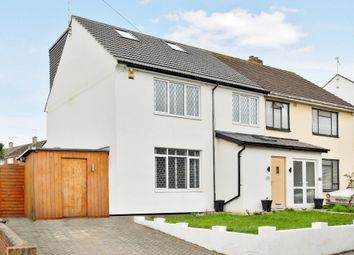 Thumbnail 5 bed semi-detached house for sale in Lullingstone Crescent, St. Pauls Cray, Orpington