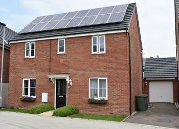 Thumbnail 4 bed detached house for sale in Hillary Close, Hempsted, Peterborough