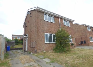 Thumbnail 1 bed semi-detached house to rent in Ledbury Crescent, Birches Head, Stoke-On-Trent