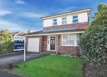Thumbnail 4 bed detached house for sale in Canada Drive, Cherry Burton, Beverley