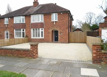 Thumbnail 3 bed semi-detached house for sale in Manor Way, Wistaston, Crewe, Cheshire