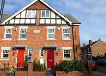 Thumbnail 4 bedroom end terrace house for sale in Mansfield Road, Chester Green, Derby