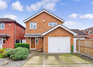 Thumbnail 4 bed detached house for sale in Spellbrook Close, Wickford, Essex