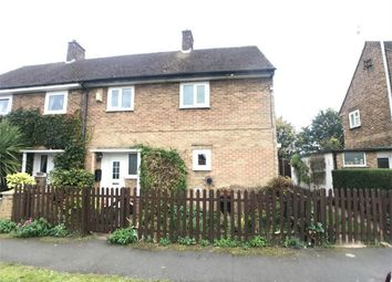 Thumbnail 3 bed semi-detached house to rent in Holmes Road, Glinton, Peterborough, Cambridgeshire
