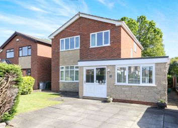 Thumbnail 4 bed detached house for sale in Keswick Avenue, Bromborough, Wirral