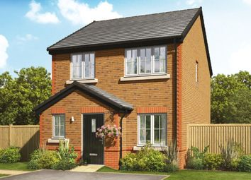 Thumbnail 3 bed detached house for sale in Orchard Fields Newcastle Road, Shavington, Crewe