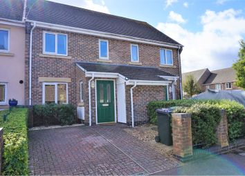 Thumbnail 3 bed terraced house for sale in The Oaks, Newbury