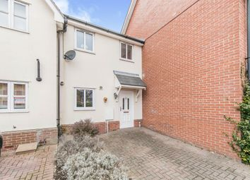 Thumbnail 2 bed terraced house for sale in Brickfield Close, Ipswich