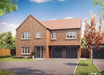 "Thumbnail 5 bed detached house for sale in ""The Brompton"" at Fordlands Road, Fulford, York"