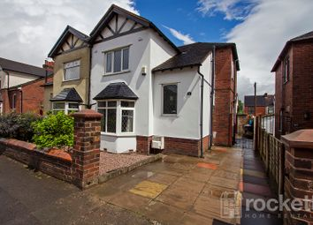 Thumbnail 3 bed semi-detached house to rent in Basford Park Road, May Bank, Newcastle-Under-Lyme
