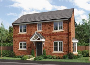 "Thumbnail 3 bed detached house for sale in ""Milton"" at Milldale Road, Farnsfield, Newark"