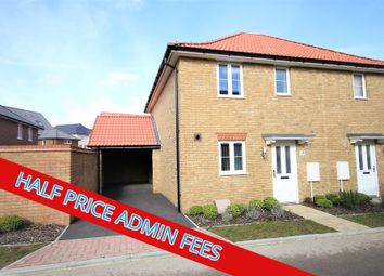 Thumbnail 3 bedroom semi-detached house to rent in Lamplight Gardens, Aylesham, Canterbury