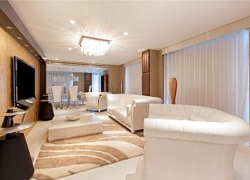 Thumbnail 3 bed flat for sale in 1 Pan Peninsula Square, West Tower, London