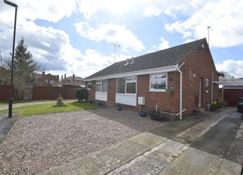 Thumbnail 2 bed semi-detached bungalow for sale in Newtown, Tewkesbury, Gloucestershire