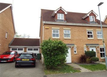 Thumbnail 3 bed semi-detached house to rent in Middlebrook Green, Market Harborough