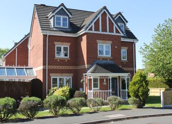 Thumbnail 5 bed detached house for sale in Mottram Drive, Nantwich