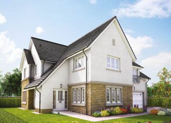 "Thumbnail 5 bed detached house for sale in ""Lowther"" at Penicuik Road, Roslin"