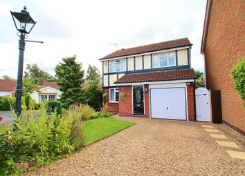 Thumbnail 4 bed detached house for sale in Wooldale Close, Anstey, Leicestershire