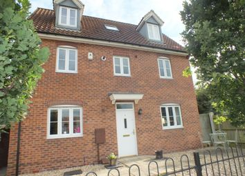 Thumbnail 5 bed detached house to rent in Hedge Lane, Witham St Hughs, Lincoln