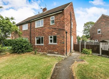 Thumbnail 2 bed semi-detached house for sale in Manor Road, Dinnington, Sheffield