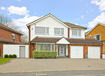 Thumbnail 4 bed detached house for sale in Wren Crescent, Bushey