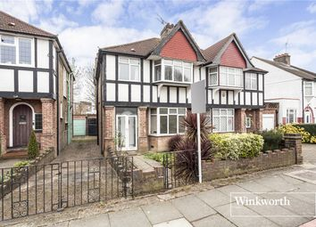 Thumbnail 3 bed semi-detached house for sale in Wentworth Avenue, Finchley, London