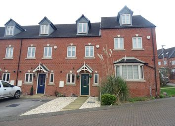 Thumbnail 3 bed town house for sale in Saffron Court, Wombwell, Barnsley