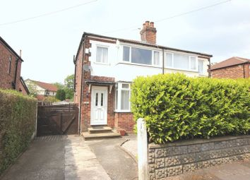 Thumbnail 2 bed semi-detached house to rent in Taylor Street, Prestwich, Manchester
