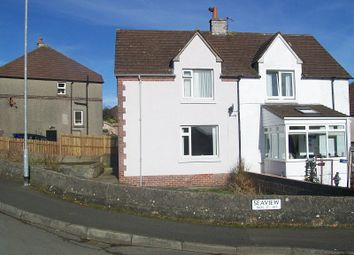 Thumbnail 2 bed semi-detached house for sale in Seaview, Wigtown
